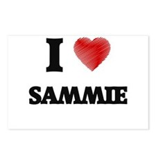 I love Sammie Postcards (Package of 8)