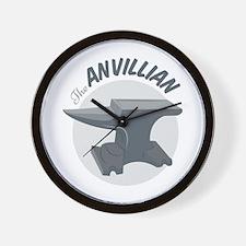The Anvillian Wall Clock