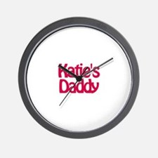 Katie's Daddy Wall Clock