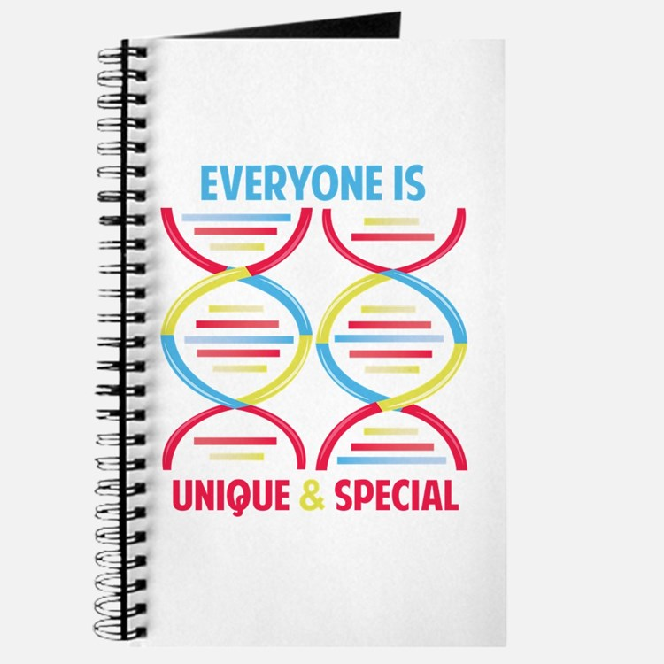 Everyone Is Unique Journal