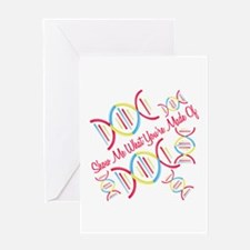 What Your Made Of Greeting Cards