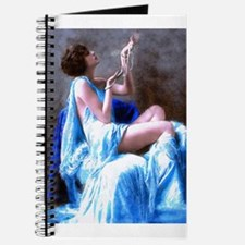Burlesque Girl with Pearls Journal