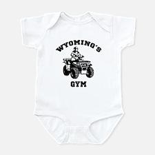 Wyoming's ATV Gym Infant Bodysuit