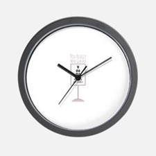 Need Glasses Wall Clock