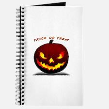 Scary Halloween Pumpkin Journal