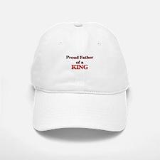Proud Father of a King Baseball Baseball Cap