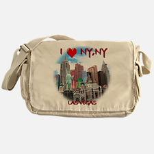 I Heart NY, NY Messenger Bag