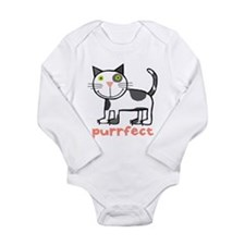 Unique Animals Long Sleeve Infant Bodysuit