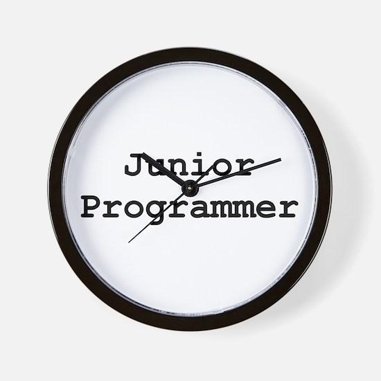 Junior Programmer Wall Clock