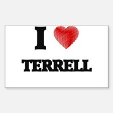 I love Terrell Decal