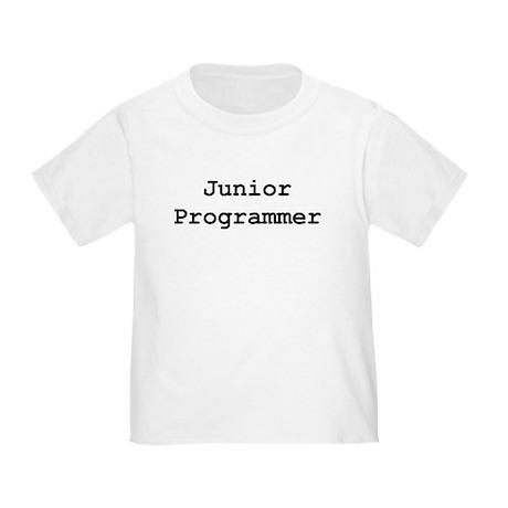 Junior Programmer Toddler T-Shirt