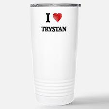 I love Trystan Stainless Steel Travel Mug