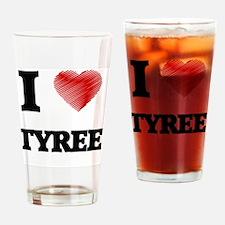 Cute Tyree Drinking Glass