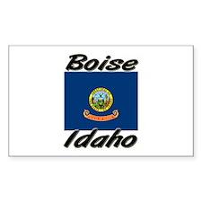 Boise Idaho Rectangle Decal