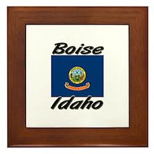 Boise Idaho Framed Tile