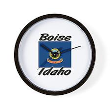 Boise Idaho Wall Clock