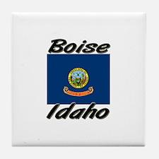 Boise Idaho Tile Coaster
