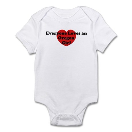 Oregon girl Infant Bodysuit