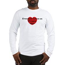 Oregon girl Long Sleeve T-Shirt