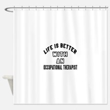 Occupational Therapist Designs Shower Curtain