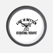 Occupational Therapist Designs Wall Clock