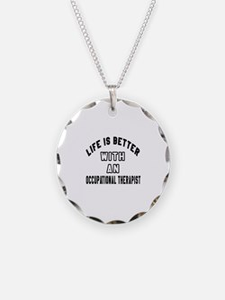 Occupational Therapist Desig Necklace