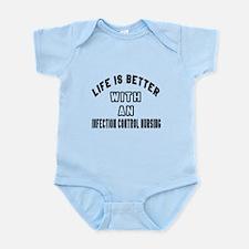 Infection Control Nursing Designs Infant Bodysuit