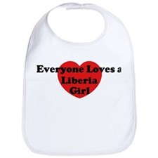 Liberia girl Bib