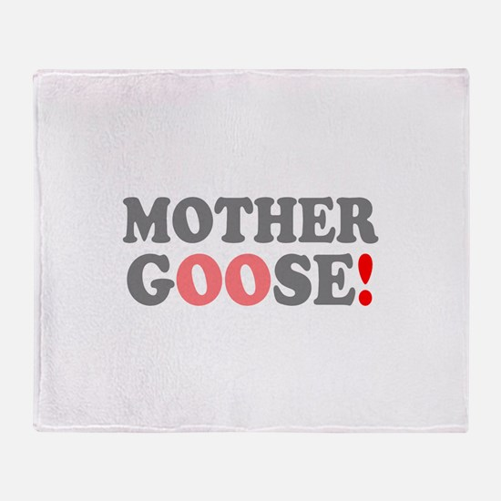 MOTHER GOOSE! - Throw Blanket