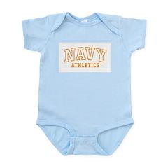 NAVY ATHLETICS Infant Creeper