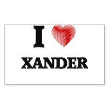 I love Xander Decal
