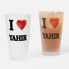 Cute Yahir Drinking Glass