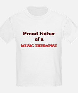 Proud Father of a Music Therapist T-Shirt