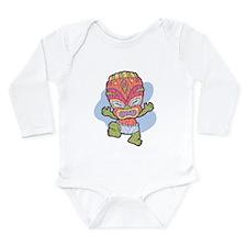 Unique Baby hawaii Long Sleeve Infant Bodysuit