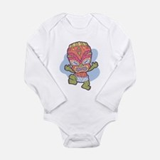 Funny Hawaii surf Long Sleeve Infant Bodysuit