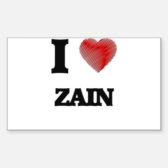 I love Zain Decal