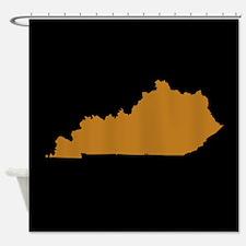 kentucky brown black Shower Curtain