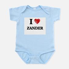 I love Zander Body Suit