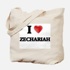 I love Zechariah Tote Bag