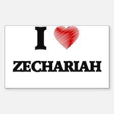 I love Zechariah Decal