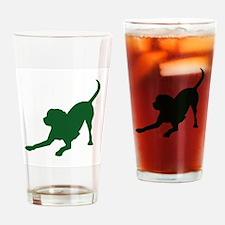 Lab 1C Green Drinking Glass