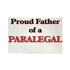 Proud Father of a Paralegal Magnets