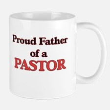 Proud Father of a Pastor Mugs