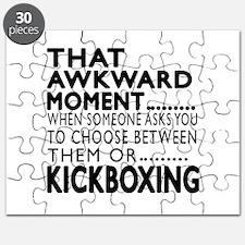 kickboxing Awkward Moment Designs Puzzle