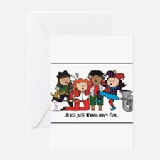 Brass just wanna have fun! Greeting Cards