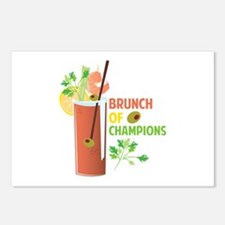 Brunch Of Champions Postcards (Package of 8)