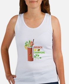 Brunch Of Champions Tank Top