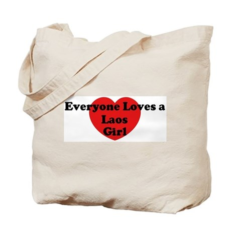 Laos girl Tote Bag
