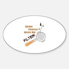 No Filter Decal