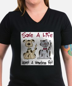 Cute Cat angels pet adoptions Shirt